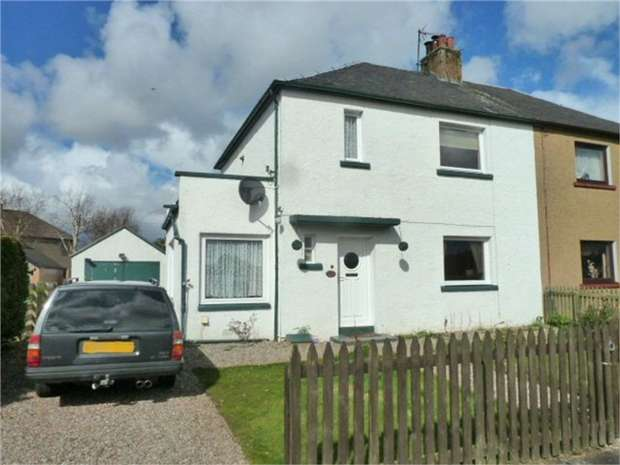 3 Bedrooms Semi Detached House for sale in Pine Grove, Blairgowrie, Perth and Kinross