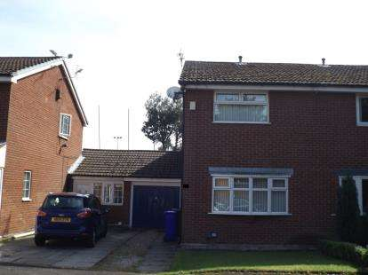 2 Bedrooms Semi Detached House for sale in Capenhurst Close, Manchester, Greater Manchester, .