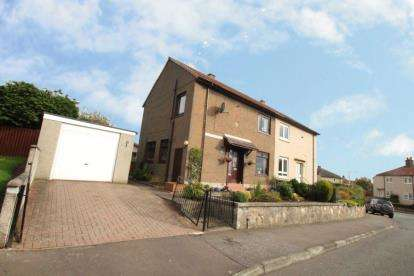 3 Bedrooms Semi Detached House for sale in Halfields Gardens, Kennoway