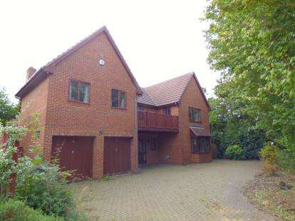 5 Bedrooms Detached House for sale in Livesey Hill, Shenley Lodge, Milton Keynes, Buckinghamshire