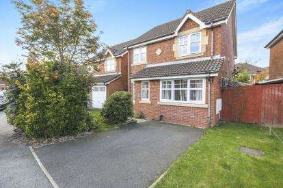 3 Bedrooms Detached House for sale in Spinners Drive, St. Helens, Merseyside, WA9