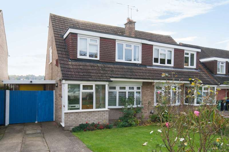 3 Bedrooms Semi Detached House for sale in Bridgewater Road, Berkhamsted
