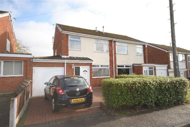 3 Bedrooms Semi Detached House for sale in Queensway, Shevington, Wigan, WN6