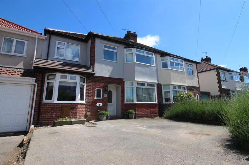 4 Bedrooms Semi Detached House for sale in Forest Road, Heswall, Wirral, CH60 5SW