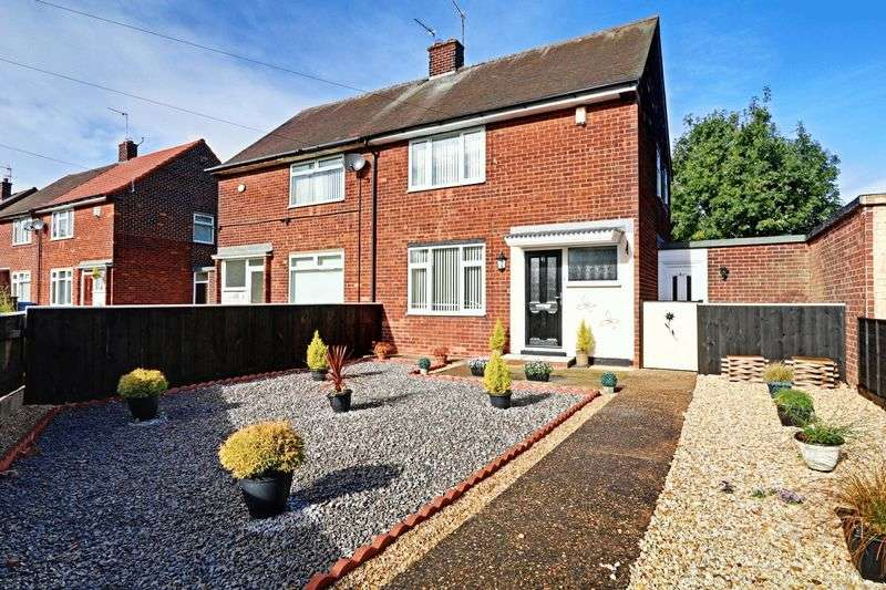 2 Bedrooms Semi Detached House for sale in Holm Garth Drive, Hull
