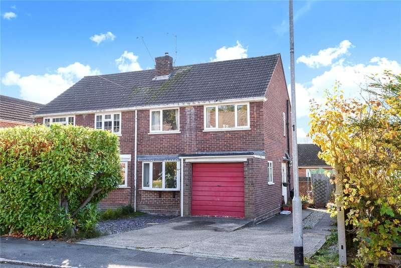 3 Bedrooms Semi Detached House for sale in Range View, College Town, Sandhurst, Berkshire, GU47