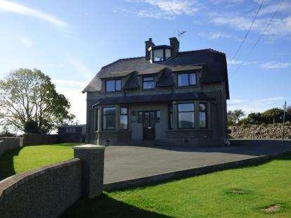 4 Bedrooms Detached House for sale in Lon Uchaf, Morfa Nefyn, Pwllheli, Gwynedd, LL53