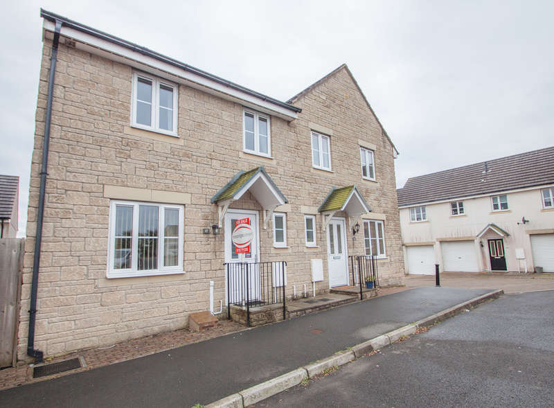 3 Bedrooms Semi Detached House for sale in Moorland Reach, Plymouth