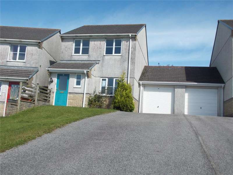 3 Bedrooms Link Detached House for sale in Hillside Meadows, Foxhole, St. Austell