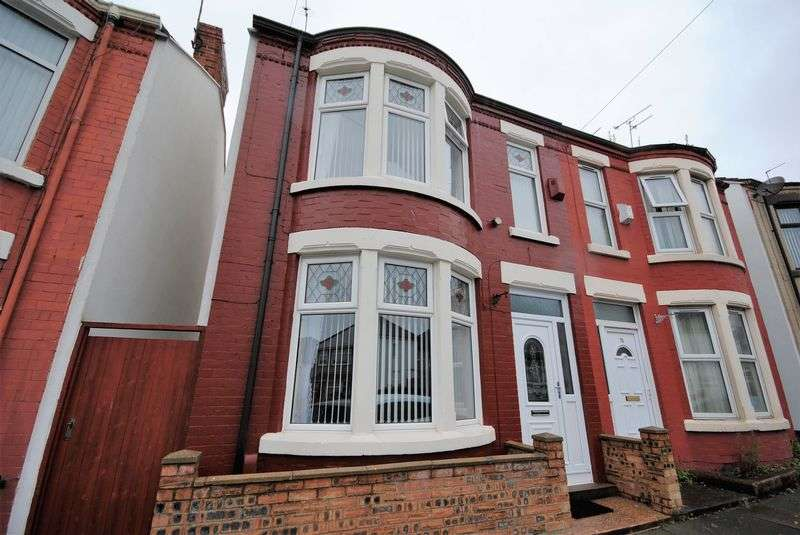 2 Bedrooms Semi Detached House for sale in Norwood Road, Wallasey