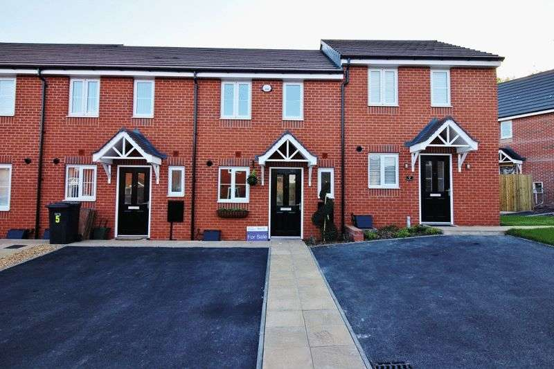 2 Bedrooms Terraced House for sale in Clare Grove, Wardsbridge Gardens, Wednesfield