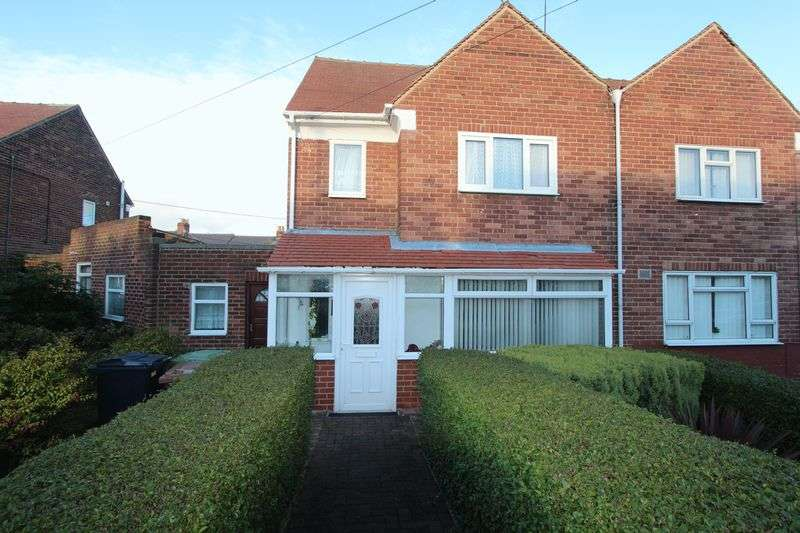 2 Bedrooms Semi Detached House for sale in Essex Grove, Silksworth, Sunderland