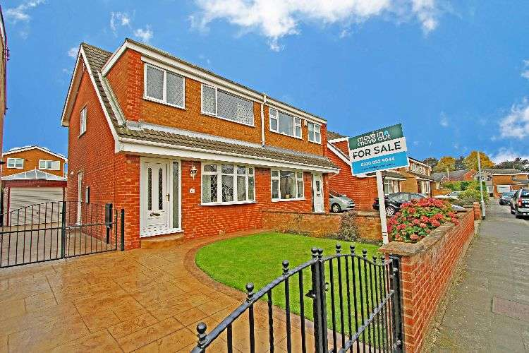 3 Bedrooms Semi Detached House for sale in Webster Crescent, South Yorkshire, S61 2BP