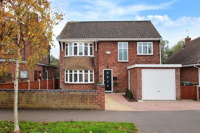 4 Bedrooms Detached House for sale in Welsford Road, Eaton Rise, Norwich