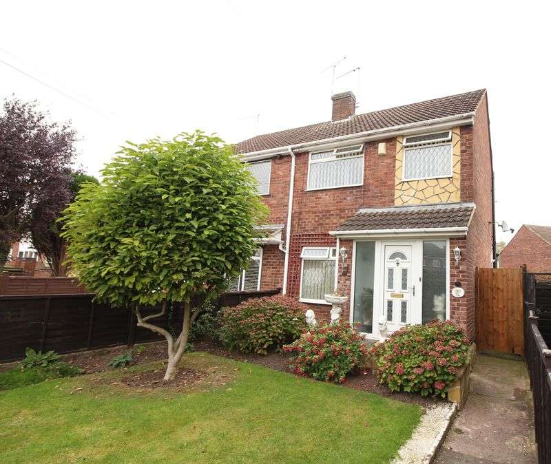 3 Bedrooms Semi Detached House for sale in Yewdale Crescent, Potters Green, Coventry, CV2 2FL