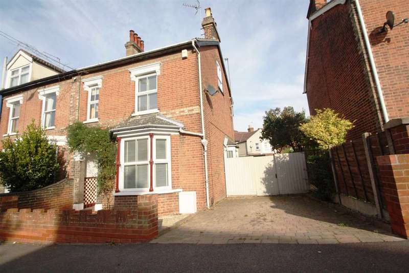 4 Bedrooms Semi Detached House for sale in St. Johns Road, Ipswich