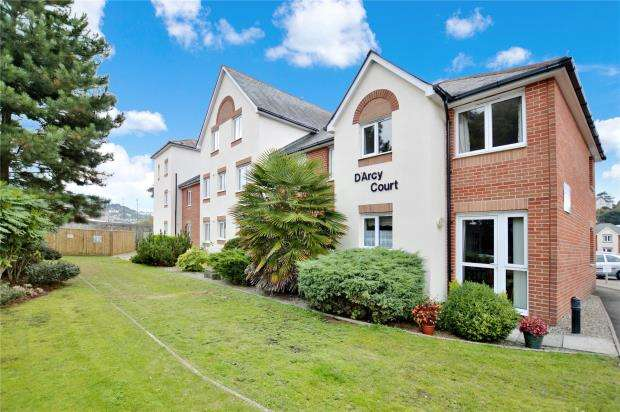 2 Bedrooms Flat for sale in D'arcy Court, Marsh Road, Newton Abbot, Devon