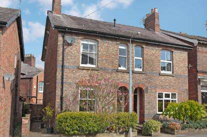 3 Bedrooms Semi Detached House for sale in Chorley Hall Lane, Alderley Edge, Cheshire