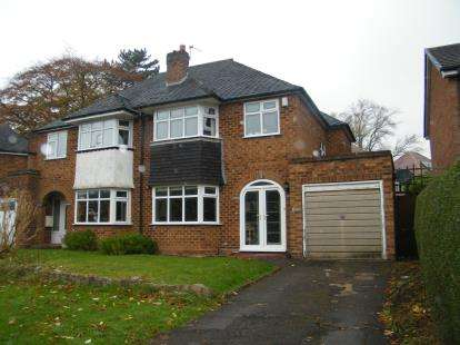 3 Bedrooms Semi Detached House for sale in Middleton Hall Road, Birmingham, West Midlands