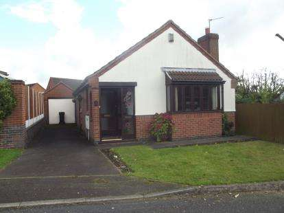 2 Bedrooms Bungalow for sale in St. Johns Close, Hugglescote, Coalville, Leicestershire