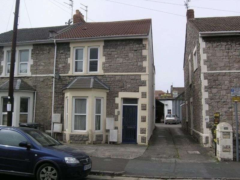 2 Bedrooms Flat for sale in George Street, Weston-super-Mare