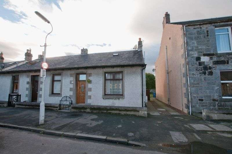 3 Bedrooms Semi Detached House for sale in Kilbagie Street, Alloa