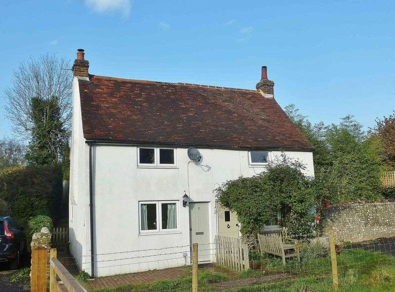 2 Bedrooms Semi Detached House for sale in Southview Cottages, The Street, Fulking, West Sussex,