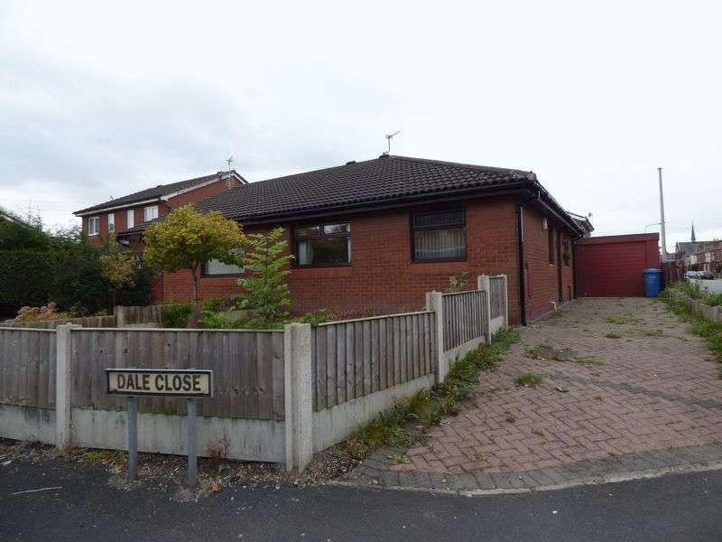 2 Bedrooms Semi Detached Bungalow for sale in Dale Close, Sankey Bridges