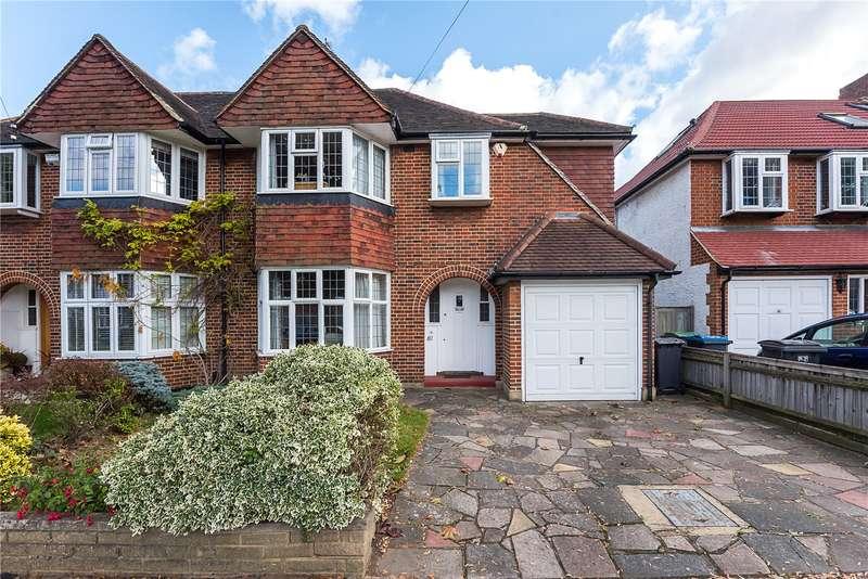 3 Bedrooms Semi Detached House for sale in Arundel Road, Kingston upon Thames, KT1