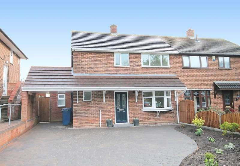 3 Bedrooms Semi Detached House for sale in Gillway Lane, Tamworth, B79 8PL