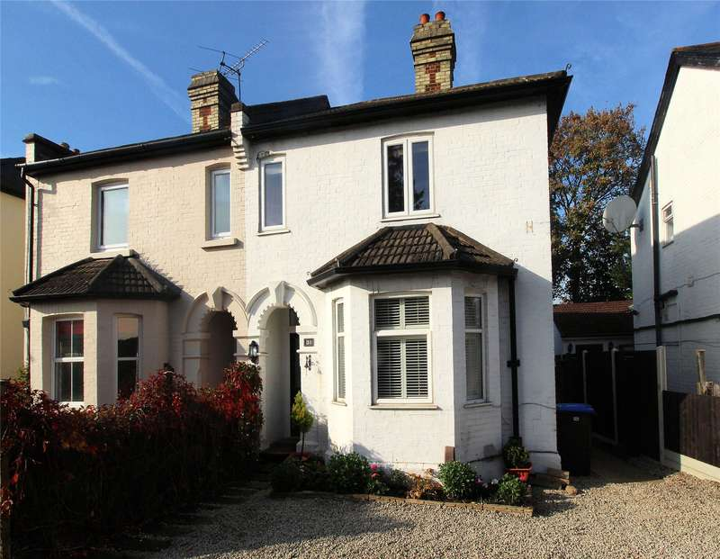 3 Bedrooms Semi Detached House for sale in St Johns Road, St Johns, Woking, Surrey, GU21