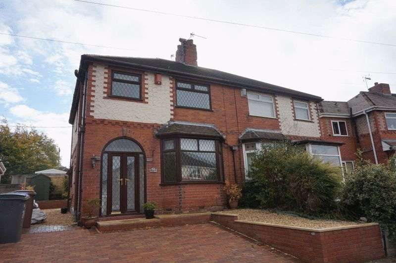 3 Bedrooms Semi Detached House for sale in Stross Avenue, Chell, Stoke-On-Trent, ST6 6NB