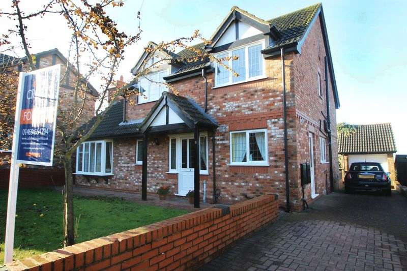 4 Bedrooms Detached House for sale in KEYWORTH DRIVE, CAISTOR