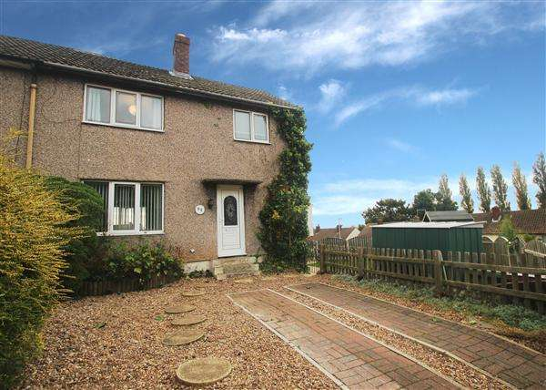 3 Bedrooms Semi Detached House for sale in Hill Estate, Upton