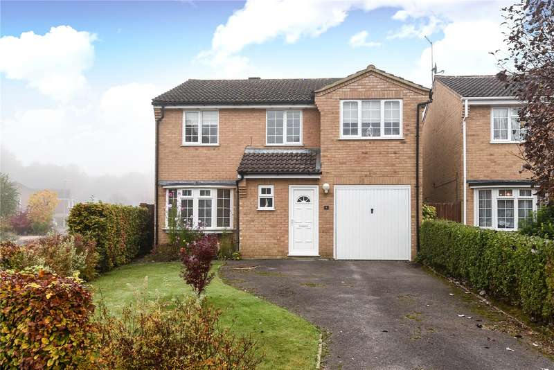 4 Bedrooms Detached House for sale in Faringdon Close, Sandhurst, Berkshire, GU47