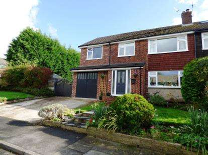 4 Bedrooms Semi Detached House for sale in Bowfell Drive, High Lane, Stockport, Greater Manchester