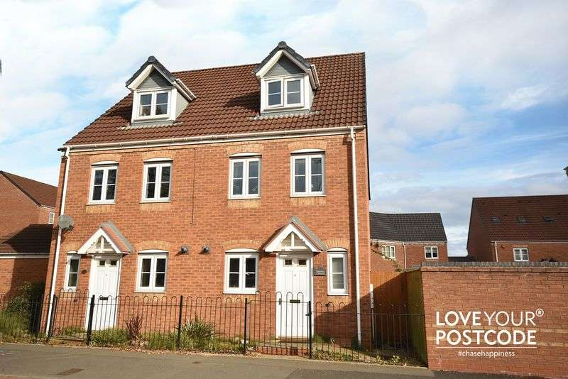 3 Bedrooms Semi Detached House for sale in Sannders Crescent, Tipton, DY4 7NT