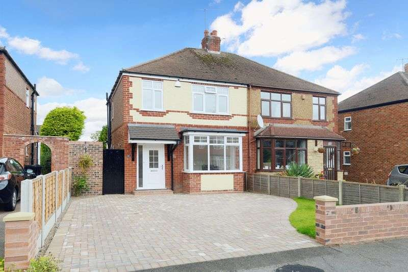 3 Bedrooms Semi Detached House for sale in Meadow Road, Albrighton