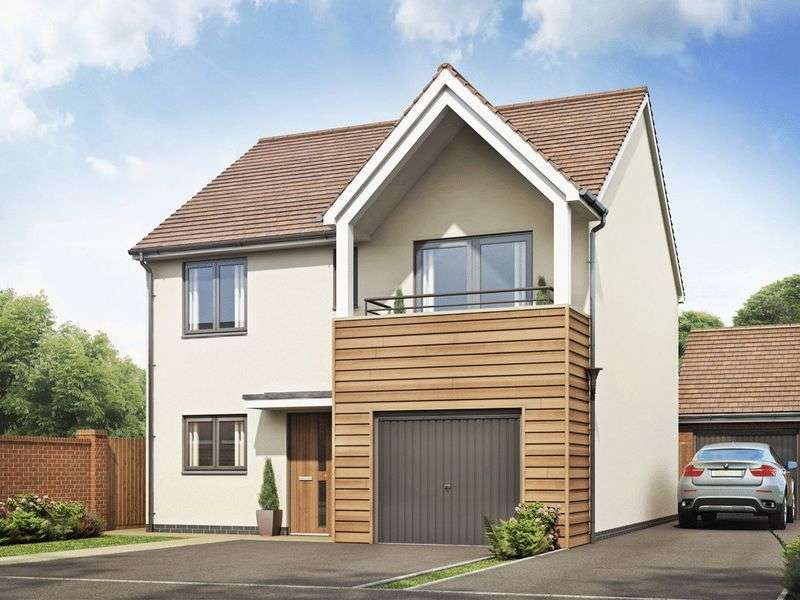 4 Bedrooms Detached House for sale in The Hannington Plot 36, Bramshall Meadows, Uttoxeter