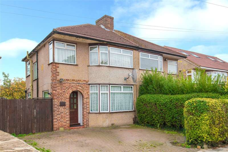 3 Bedrooms Semi Detached House for sale in Bellamy Drive, Stanmore, HA7