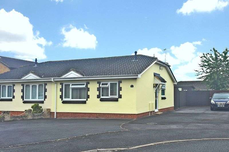 2 Bedrooms Semi Detached Bungalow for sale in Vilberie Way, Hereford