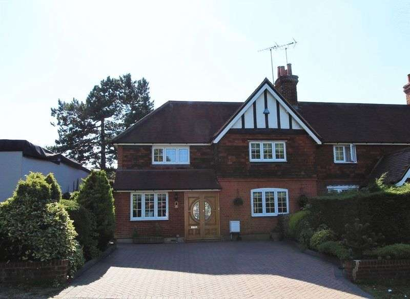 4 Bedrooms Terraced House for sale in 4 bedroom end of terrace house for sale, Hainault Road, Chigwell, Essex, IG7