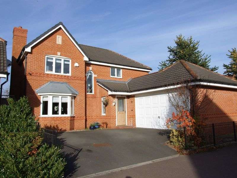 4 Bedrooms Detached House for sale in Haddon Way, Loughborough