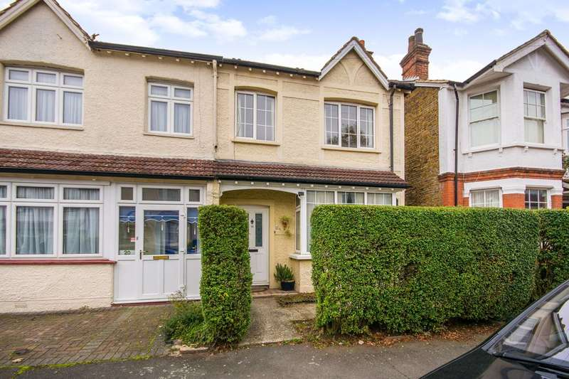 3 Bedrooms House for sale in St James Avenue, Sutton, SM1