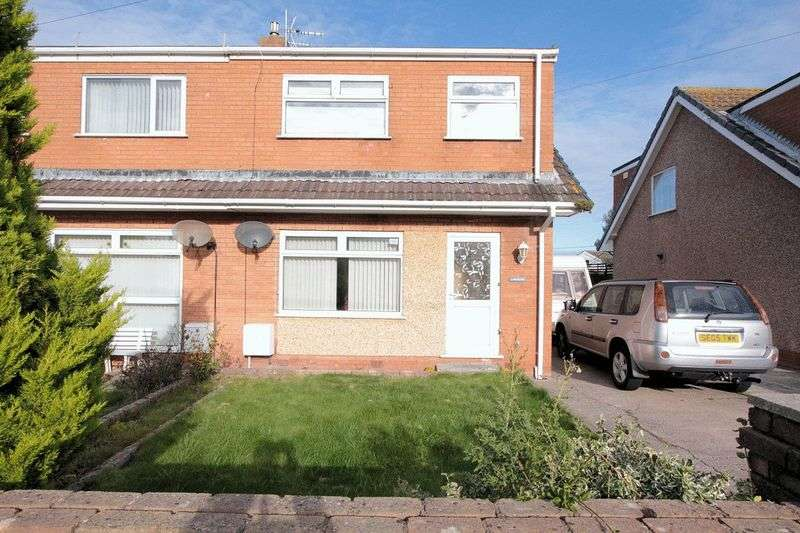 3 Bedrooms Semi Detached House for sale in Kinmel Way, Towyn
