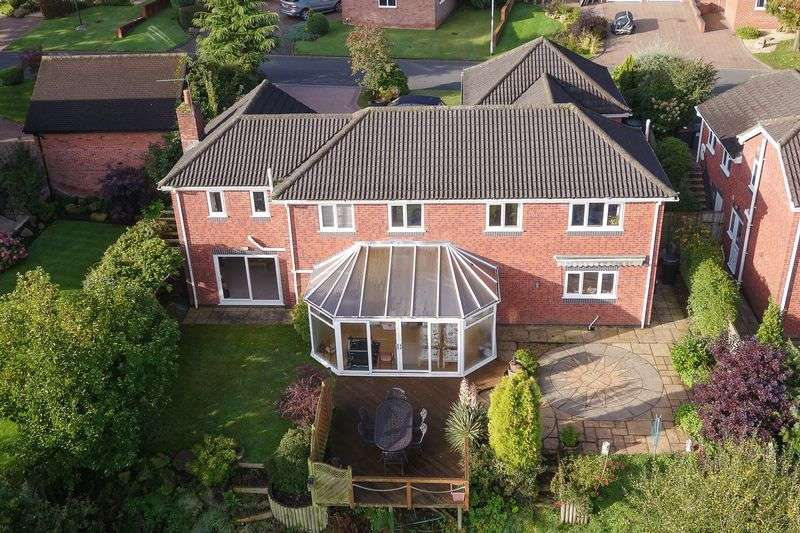 4 Bedrooms Detached House for sale in Walls Wood, Baldwins Gate, Newcastle-Under-Lyme