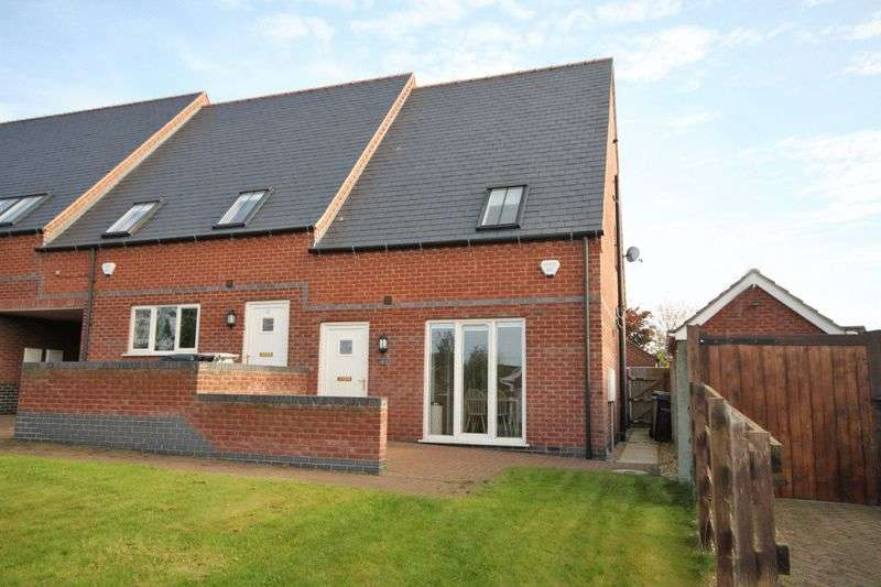 2 Bedrooms Mews House for sale in CHURCH CLOSE, HOLTON LE CLAY