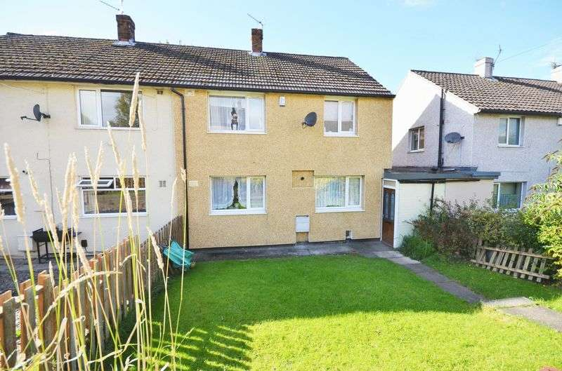 3 Bedrooms Semi Detached House for sale in 50 St. Marys Crescent, Wyke, Bradford, BD12 8RQ