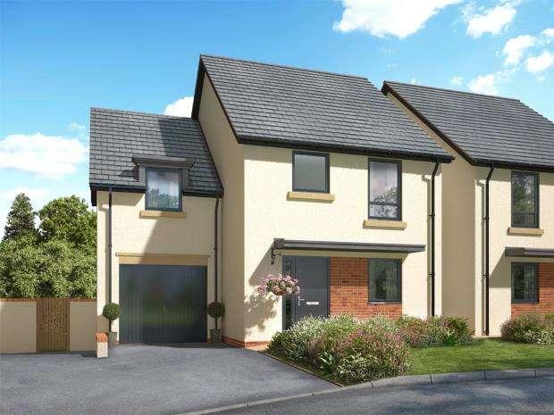 4 Bedrooms Semi Detached House for sale in Meldon Fields, Okehampton, Devon