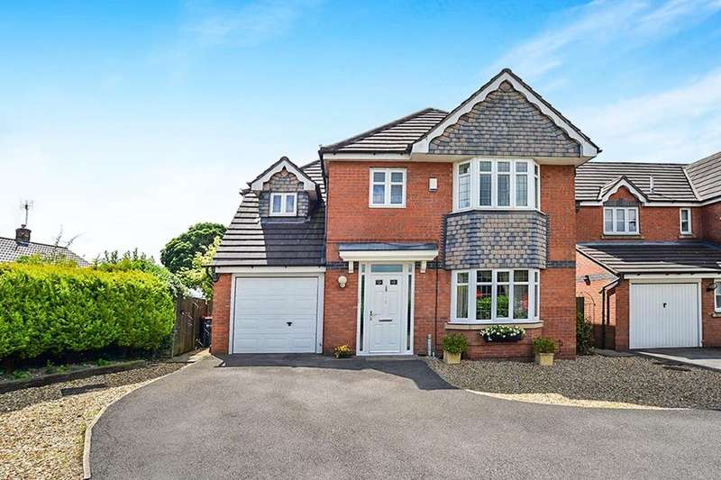 4 Bedrooms Detached House for sale in Whitegates Way, Huthwaite, Sutton-In-Ashfield, NG17